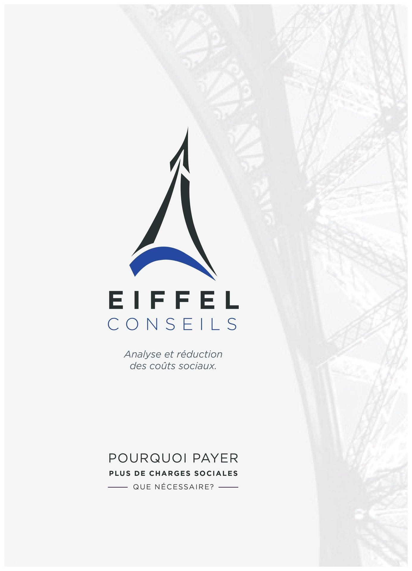 EIFFEL CONSEILS - REDUIRE SES CHARGES SOCIALES