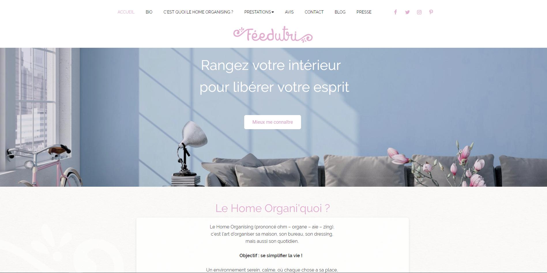 the website of the month made with appdrag fee du tri. Black Bedroom Furniture Sets. Home Design Ideas